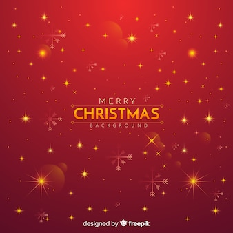 Christmas red twinkle background