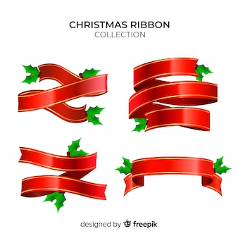 Christmas ribbon collection