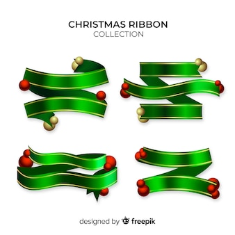 Christmas ribbon collection