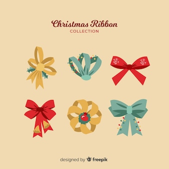Christmas ribbons collection