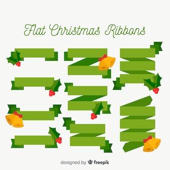 Коллекция рождественских лент