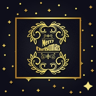 クリスマスロイヤルのロゴデザイン
