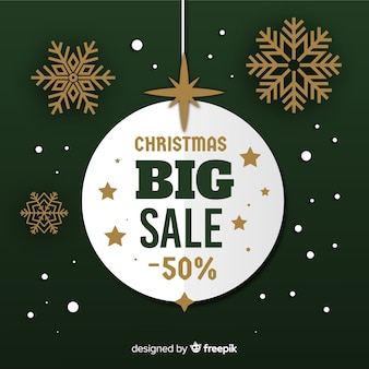 Christmas sale backgorund