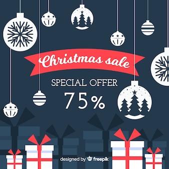 Рождественская распродажа фон