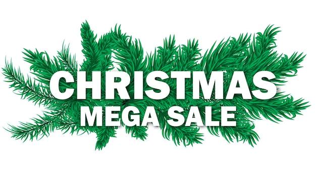 크리스마스 판매 배너 휴일 할인 크리스마스 겨울 광고 배경 벡터 일러스트 레이 션을 제공합니다. 가격 카드 포스터 특별 프로모션 태그입니다. 정리 인사말 가게 스티커.
