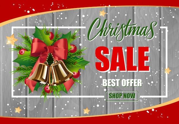 Christmas sale best offer lettering in frame