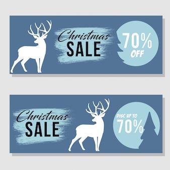 Christmas sale deer