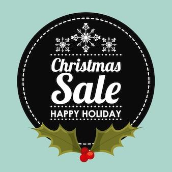 クリスマスのセールスデザイン、ベクトルイラストeps10グラフィック