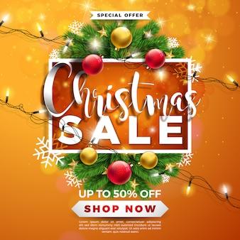 장식용 공 크리스마스 판매 디자인
