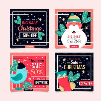 クリスマスセールinstagramポストコレクション