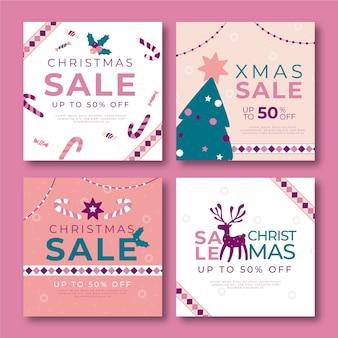 Рождественская распродажа в instagram