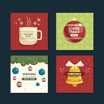 クリスマスセールのinstagramの投稿