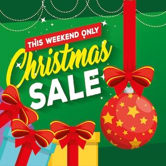 선물 크리스마스 판매 라벨