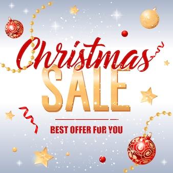 Offerta di vendita natalizia per te iscrizione