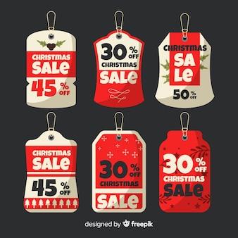 Christmas sale tag collection