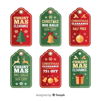 Набор рождественских распродаж