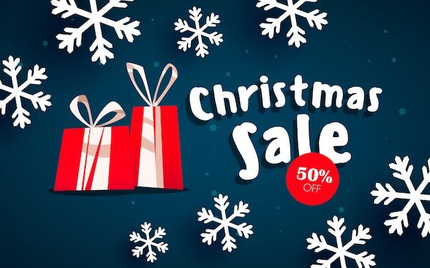The christmas sale.