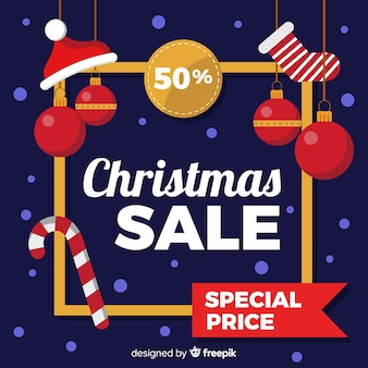 Christmas sales banner