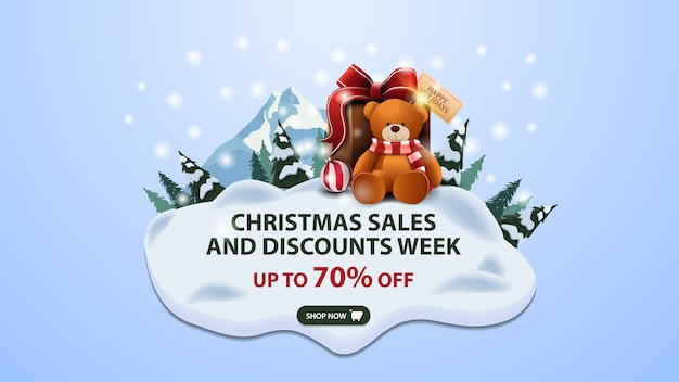 Christmas sales and discount week