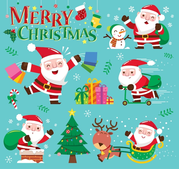 크리스마스 산타 클로스 컬렉션