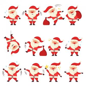 クリスマスサンタクロース。
