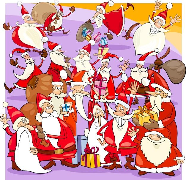 クリスマスサンタグループ漫画