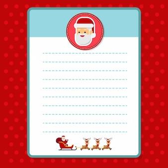 Christmas santa letterhead paper printable christmas