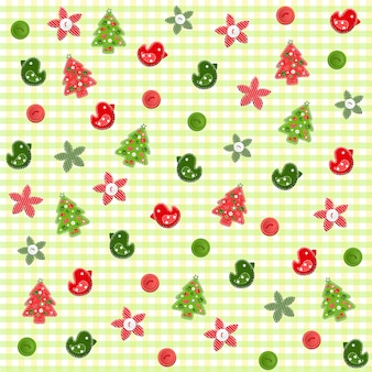 Christmas seamless background.