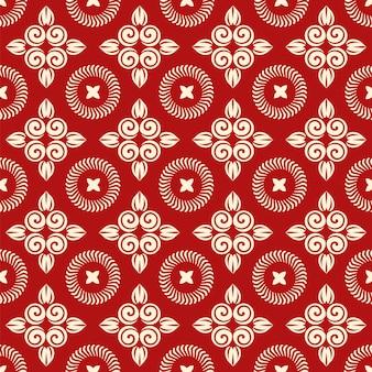 Christmas seamless floral