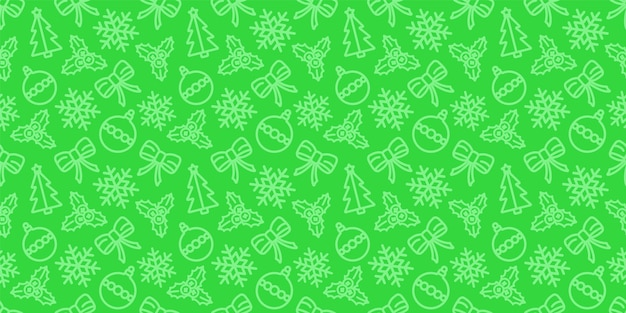 Christmas seamless pattern.  holiday wrapping paper ornament.