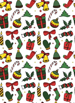 Christmas seamless pattern/print design