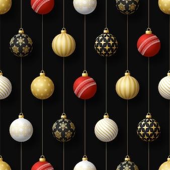 매달려 광택 싸구려 크리스마스 원활한 패턴