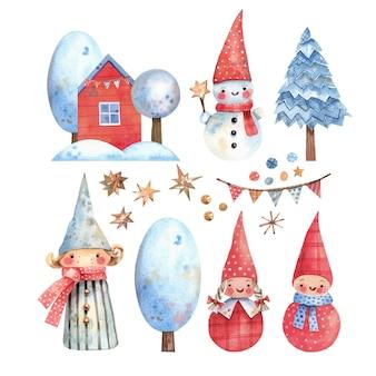 グラフィックスタイルの手描きのロリポップと星とクリスマスのシームレスなパターン