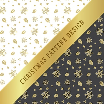 Christmas seamless pattern for wrapping paper and greeting card