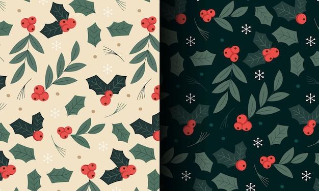 크리스마스 원활한 패턴