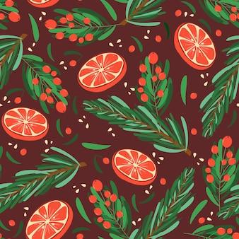 크리스마스 완벽 한 패턴입니다.