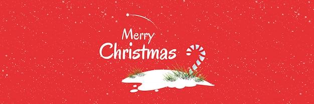 크리스마스 시즌 웹 및 소셜 미디어 배너 디자인