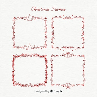 Christmas simple frame pack
