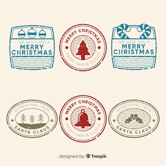 Christmas simple stamp pack