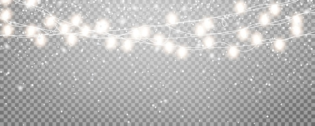 Christmas snow background. winter holiday scene. realistic snow overlay