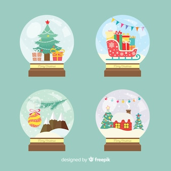 Christmas snowball set
