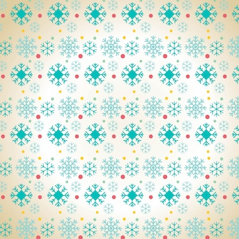 Christmas snowflake pattern background