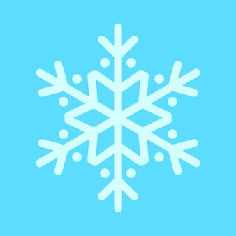 Christmas Snowflake Rounded