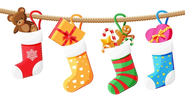 クリスマスの靴下ストッキング