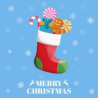 キャンディー、ギフトとクリスマスの靴下
