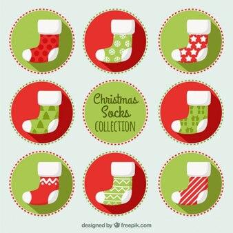 Christmas socks collection