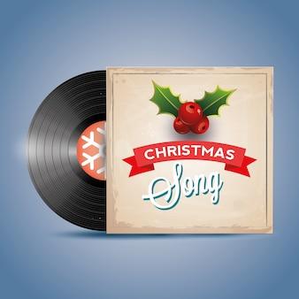 Рождественская песня. запись на виниловом диске