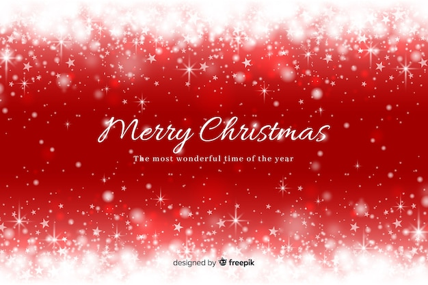 Christmas sparkling background