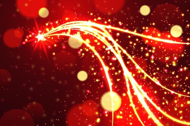 Рождественский сверкающий фон