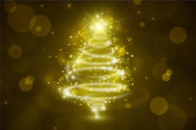 크리스마스 반짝이 배경